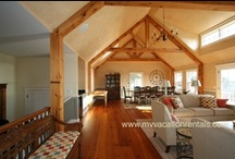 Featured: TREVS - 5 BR / Stunning, new ocean-view luxury home in Chilmark with private association beach rights and solar heated pool. / by Martha's Vineyard Vacation Rentals