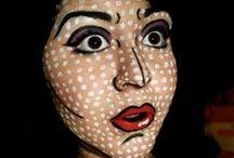 Maquillaje / Make-up / Disfraces Jarana engloba en esta categría toda una serie de pines relacionados con el maquillaje. Trabajos en ojos, faciales, uñas o labios espectaculares muchos de ellos explicados paso a paso. / by Disfraces Jarana