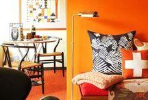 Orange / by Roger Oates Floors & Fabrics