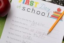 1st Day of School  / by Therapy Source, Inc.