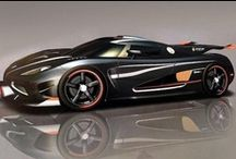Wheels / Sports cars, race cars, muscle cars, hot rods, any cars that look cool / by The Grey Ghost