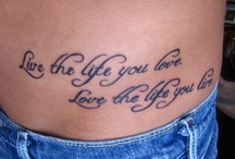 Tattoo For You! / by Carolyn Parsons