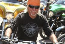 Yeah - wheels & roads... / Did you ever ride a Harley and not want the road to end... / by Edith