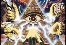 Illuminati and NWO Graphics / Infographics, graphics, cartoons, comics and illustrations related to the Illuminati and the New World Order (NWO) / by Illuminati Symbols