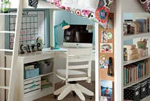 Cool Study Spaces / The right environment can make all the difference in your student's studies. Here are some neat rooms and products for your tweens and teens! / by StraightAce