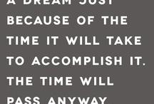 Inspiracion y citas / by Jenna Hepner