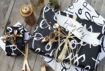 Gift wrapping ideas / by P.S.