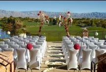 Real Weddings at Desert Willow Golf Resort / Here in Palm Desert, California the sun shines 350 days a year. Whether you are planning the wedding of your dreams, rehearsal dinner, bridal shower or a small family get-together, there is no venue more welcoming than Desert Willow Golf Resort, located just minutes from Palm Springs, California. / by Desert Willow Golf Resort