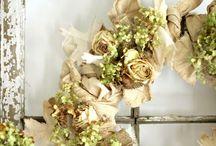 Wreaths, wreaths, wreaths.... / by Robyn W