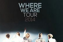 Where We Are Tour 2014 / by All Things One Direction