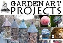 Garden Art  DIY / by Sandy Wilson