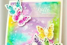 Cards butterflies / by Aletta Heij