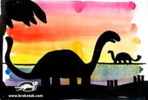 thema: dino's / by Diane Reypens