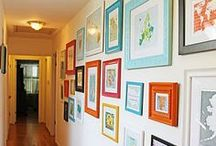 Home Design - No Naked Walls / by Faith Harshe
