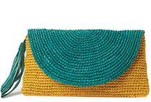 Bolsos y carteras crochet / by Elena Expósito