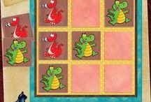 Free Games / Jeux à imprimer / by Blue Cat