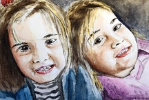 Watercolour / Sulaboya resimlerim / by Oral Erlat