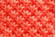 Tricot Techniques / Tricot Crochet Tissage de perles - techniques / by Jakecii