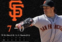 San Fransisco Giants / Sharing my love for my fave baseball team