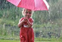 """Rain / """"Many a man curses the rain that falls upon his head, and knows not that it brings abundance to drive away the hunger.""""  ~Saint Basil    / by Shannon Culbert"""