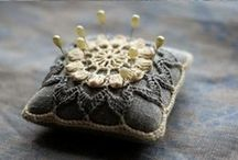 Crochet Pincushions and Sachets / Crochet Pincushions / by knotsewcute