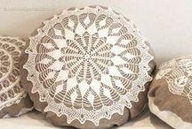 Crochet Accent Pillows / Crochet Cushions / by knotsewcute