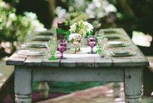 Arts de la table / by Ellen {S▲VEURS VEGET▲LES}
