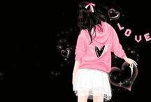 cute anime y / anime / by yomna al