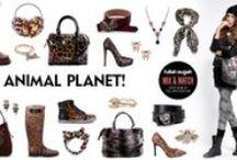 Animal Planet! | AW 2014 / Be wild and stylish at the same time!  Το ζωικό βασίλειο έχει φέτος την τιμητική του με φωτορεαλιστικές απεικονίσεις, prints και μοτίφ που στολίζουν τα αξεσουάρ σας. Αν θέλετε να έχετε ένα wild και παράλληλα stylish look, προτιμήστε τα!  http://fullahsugah.gr / by Fullah Sugah