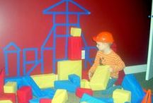 Construction & Engineering Pre / This unit is to reinforce logical thinking, math skills and creativity for children 3-5 years old. It also teaches problem solving and learning form mistakes. Never give up! / by Carolin Chubinsky