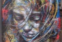 Street Art / grafitti, murals, etc. / by Kimberly Hoblet