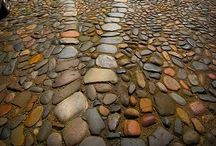 """Cobbles and Setts / """"If the path be beautiful, let us not question where it leads."""" Anatole France / by michael roberts"""