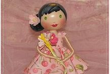Dolls - Wood / by Pinterest Favorites 52