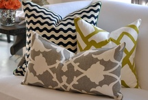 throw pillows / by Cristina Bedwell