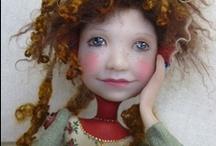 dolls / by Janet Rasmussen