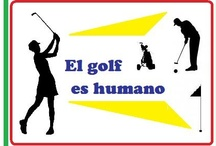 """El golf es humano©"" (Golf is Human) por L. Lores (http://elgolfeshumano.blogspot.com.es) / Me gustaría dedicar este Tablero de Pinterest a Lola Lores y su blog llamado ""El golf es humano©"".  (Visita su blog en el enlace URL mencionado arriba.)  I would like to dedicate this Pinterest Board to Lola Lores and her blog called ""El golf es humano"" (Golf is Human).  Visit her blog at the URL site mentioned above. / by English with Raymond® (EwR) en Madrid"