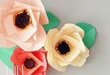 Paper Flowers / by The Fiskateers