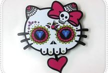 All the Hello Kitty / Hello Kitty must scream, and yet she has no mouth / by Veronica Santos