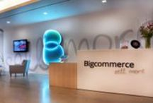 """Inside Bigcommerce / At Bigcommerce we're on an important mission - to make e-commerce amazing. We enjoy regular outings and lunches, office-wide Street Fighter tournaments and a culture that encourages us to """"Think Big"""". And we laugh. A lot. / by Bigcommerce"""