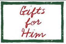 SJ Gift Guide for Men by David Coggins / Gifts for or from gentlemen by David Coggins / by Sleepy Jones
