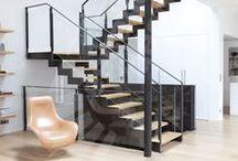 Escalier Décoration Loft, Atelier ou Ancienne Usine / by ESCALIERS DÉCORS® www.ed-ei.fr