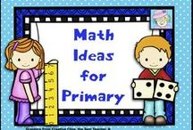 Math Ideas for Primary / This board is filled with engaging, mostly Common Core based math activities for the primary classroom.  / by Teacher Tam