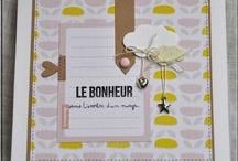 Scrap Mini album  / by Fabienne