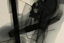 Paintings: B&W / Abstract / by Emmanuel Balayer