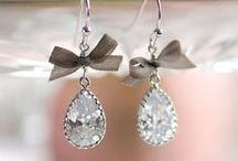 Jewelry Sparkle / The icing on the cake with any outfit - earrings, necklaces, and rings / by Tiffany Skizinski