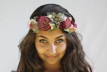flower crowns / by aisha T