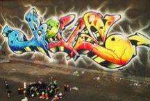 Grafitti / Streetart / by Breinstein Positive Vibration