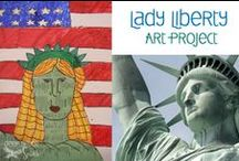 American History Ideas for 5th Grade (US Social Studies) / American history, geography, government, and economics stuff for kiddos--bulletin boards, art projects,timelines, games, activities, lessons, units, songs, YouTube videos, and more for 4th, 5th, and 6th grade students.  Learning about our country should be fun! / by The Pensive Sloth
