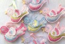 breien[knitting] haken.[crochet] / by Gea Smit Moorman