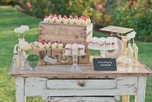 Dessert buffet / by The Polished Petal